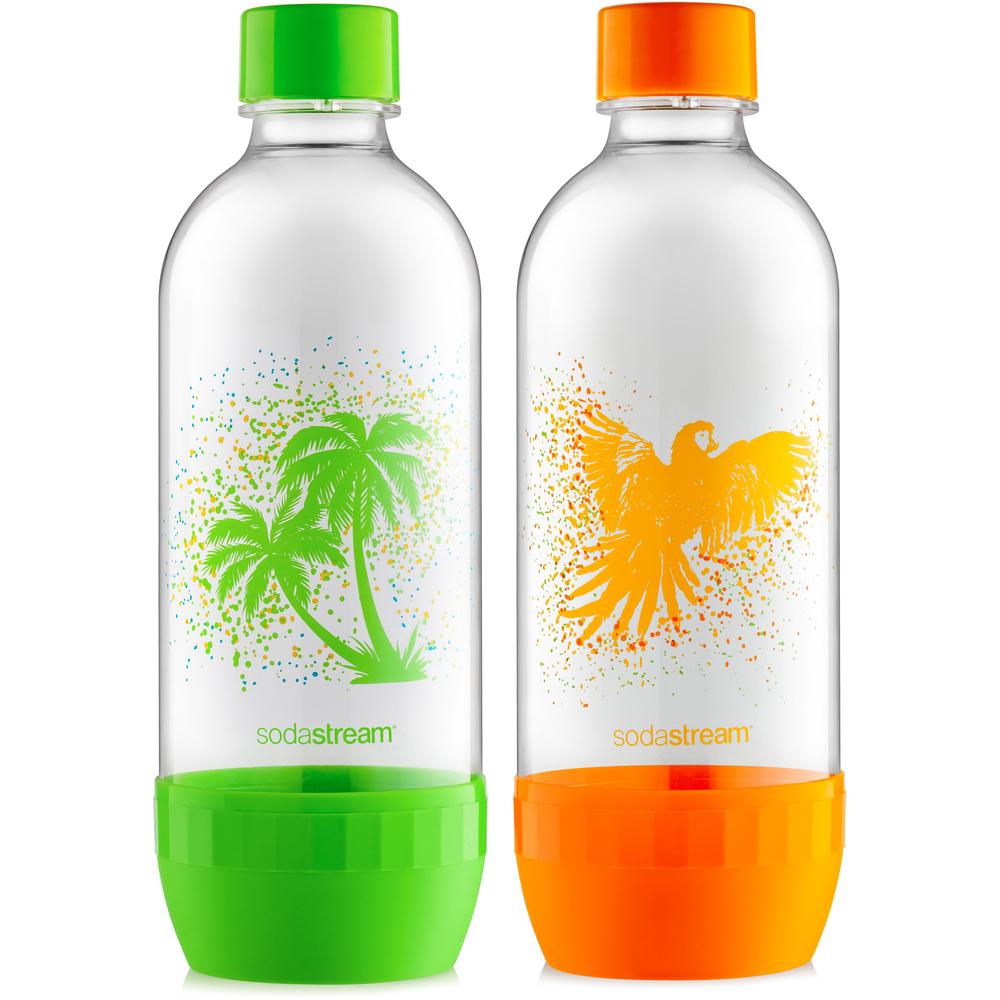 Náhradná fľaša - Fastplus - Sodastream - TROPICAL DUO PACK - OSTROV 1l (2ks). Vlastná spoľahlivá doprava až k Vám domov.