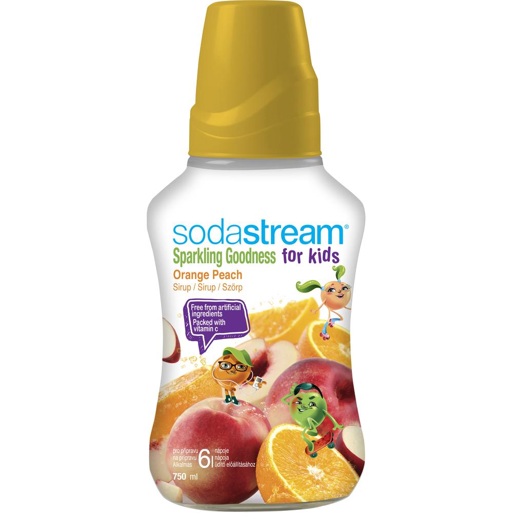 Sirup - Fastplus - Sodastream - ORANGE PEACH GOOD-KIDS 750ml (biela/oranžová). Vlastná spoľahlivá doprava až k Vám domov.