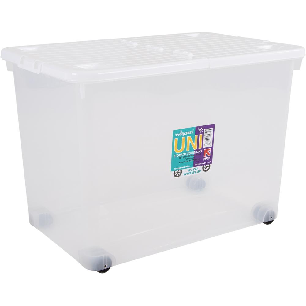 f48d1cd39 Skladovací box Wham 80l (biela) | NovýNábytok.sk