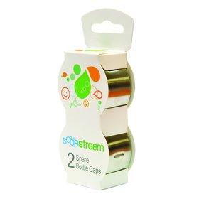 Náhradné viečko - Fastplus - Sodastream na plastové fľaše (nerez) (2ks). Vlastná spoľahlivá doprava až k Vám domov.