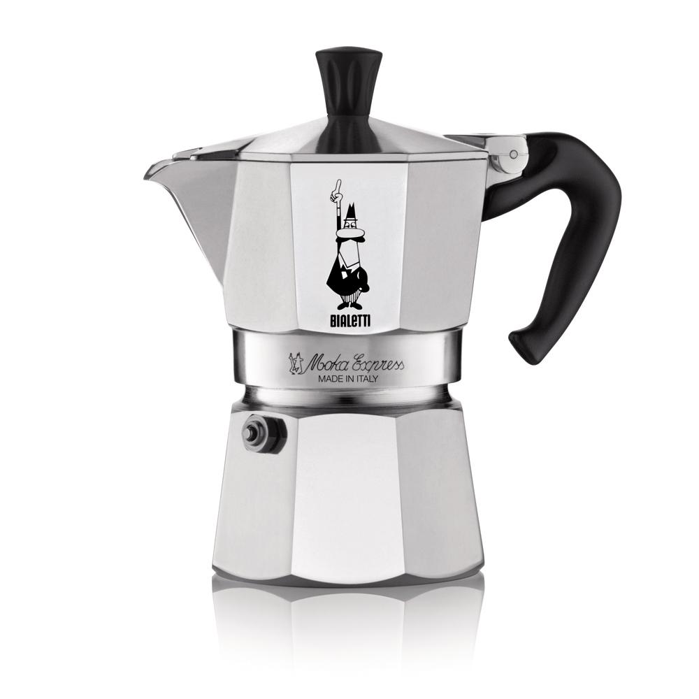 Kávovar - Fastplus - Bialetti - Moka Express 3 porcie (nerez). Vlastná spoľahlivá doprava až k Vám domov.