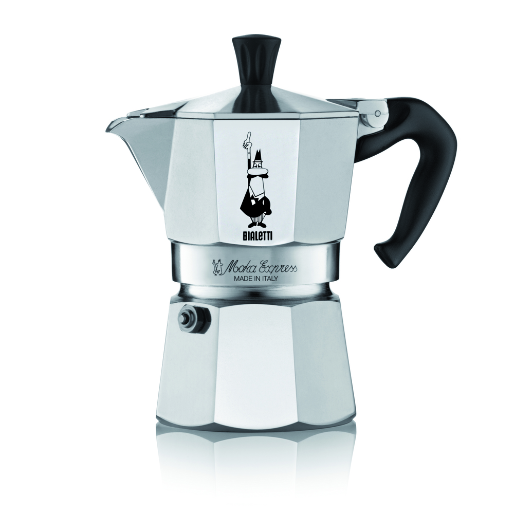 Kávovar - Fastplus - Bialetti - Moka Express 2 porcie (nerez). Vlastná spoľahlivá doprava až k Vám domov.