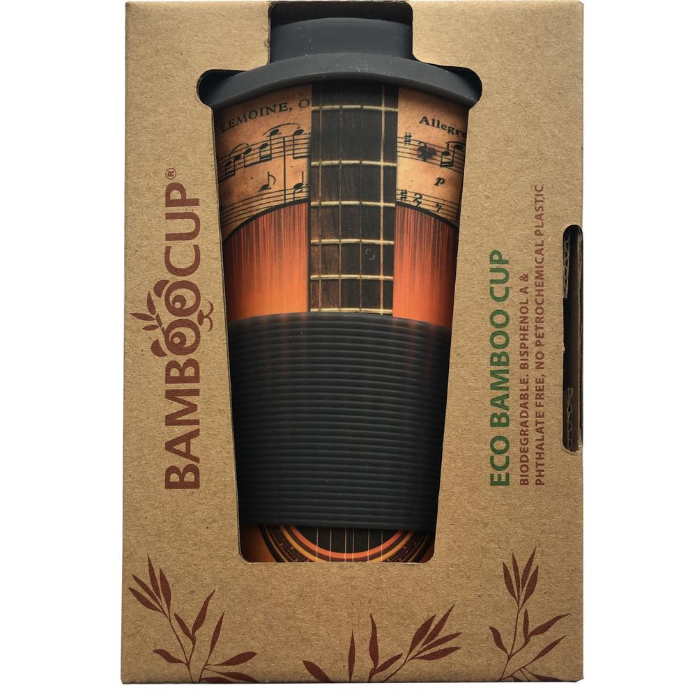 Termo hrnček - Fastplus - Balev Bio - Eco Bamboo Cup - Guitar 0,4l. Vlastná spoľahlivá doprava až k Vám domov.