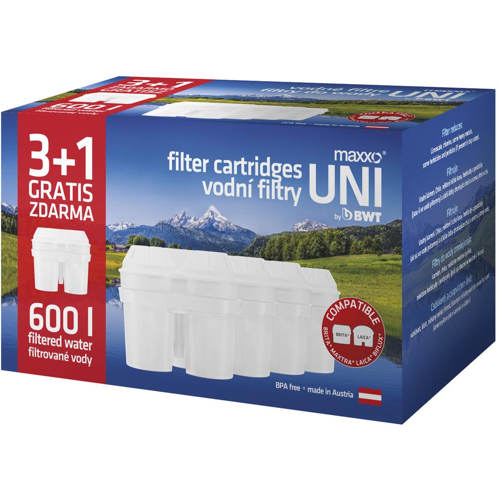 Náhradné filtre - Fastplus - Maxxo - Uni (4ks). Vlastná spoľahlivá doprava až k Vám domov.