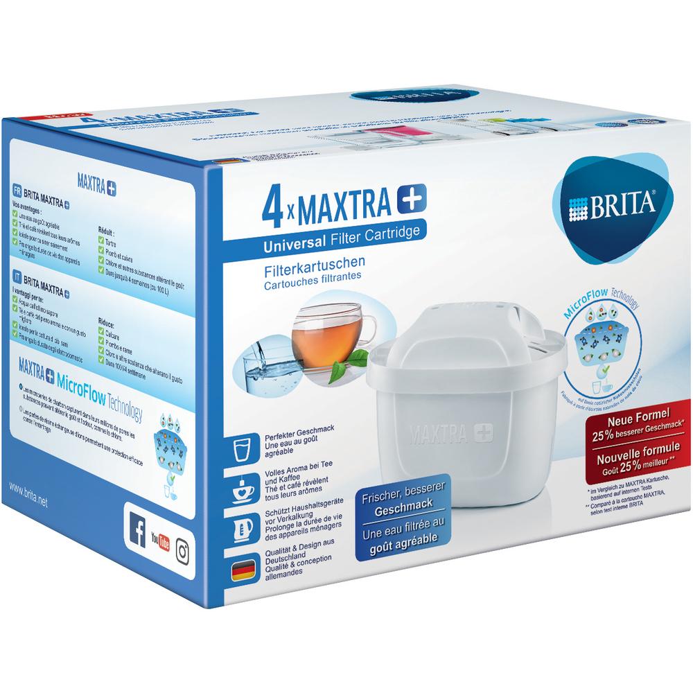 Filtračné patróny - Fastplus - Brita - MaxtraPlus (4ks). Vlastná spoľahlivá doprava až k Vám domov.