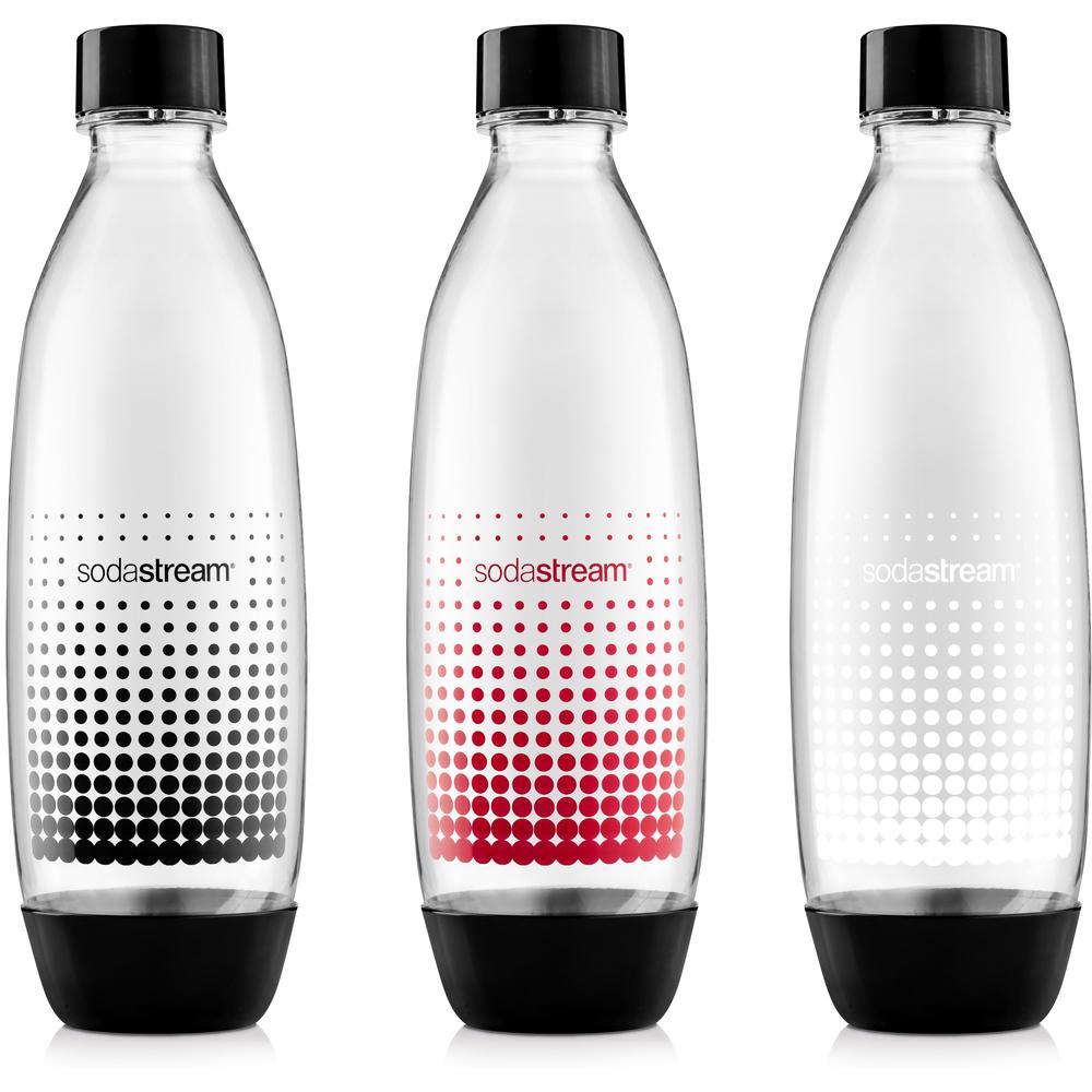 Náhradná fľaša - Fastplus - Sodastream - FUSE DARČEKOVÉ BALENIE 1l (3ks). Vlastná spoľahlivá doprava až k Vám domov.