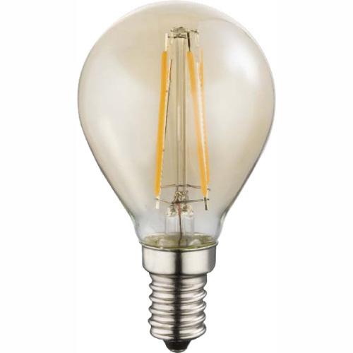 LED žiarovka - Globo - Led bulb - 10589A (nikel + jantár). Sme autorizovaný predajca Globo. Vlastná spoľahlivá doprava až k Vám domov.