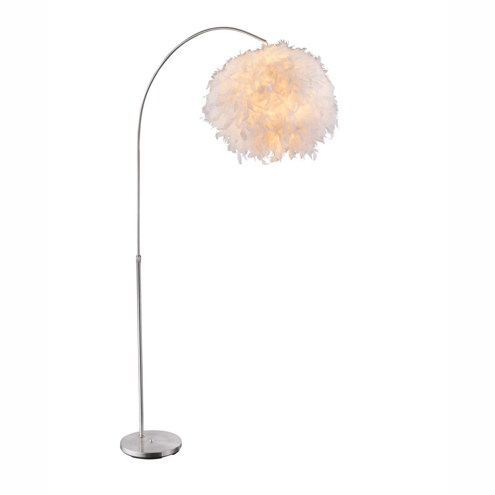 Stojanové svietidlo - Globo - Katunga - 15057S (moderné/dizajnové) (nikel + biela). Sme autorizovaný predajca Globo. Vlastná spoľahlivá doprava až k Vám domov.