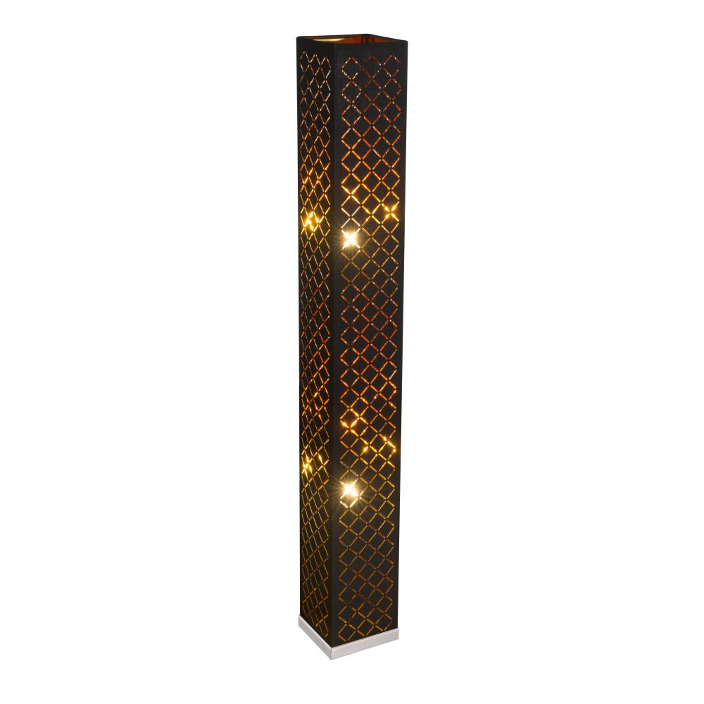 Stojanové svietidlo - Globo - Clarke - 15229S2 (klasické) (nikel + čierna). Sme autorizovaný predajca Globo. Vlastná spoľahlivá doprava až k Vám domov.