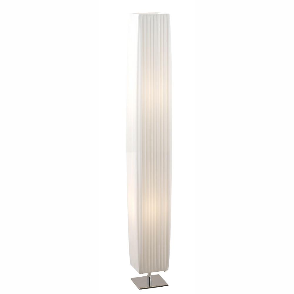 Stojanové svietidlo - Globo - Bailey - 24662 (moderné/dizajnové) (chróm + biela). Sme autorizovaný predajca Globo. Vlastná spoľahlivá doprava až k Vám domov.