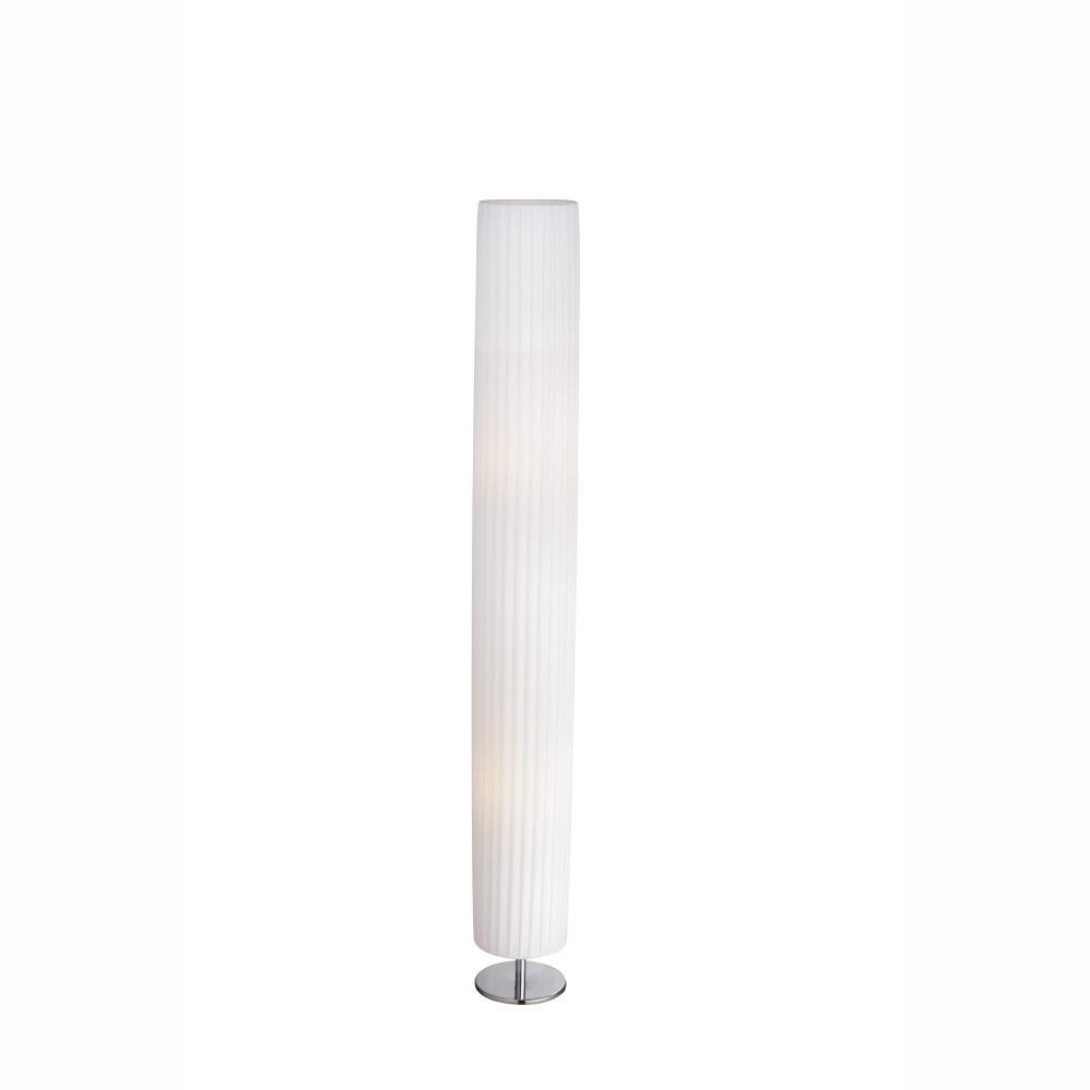 Stojanové svietidlo - Globo - Bailey - 24662R (moderné/dizajnové) (chróm + biela). Sme autorizovaný predajca Globo. Vlastná spoľahlivá doprava až k Vám domov.
