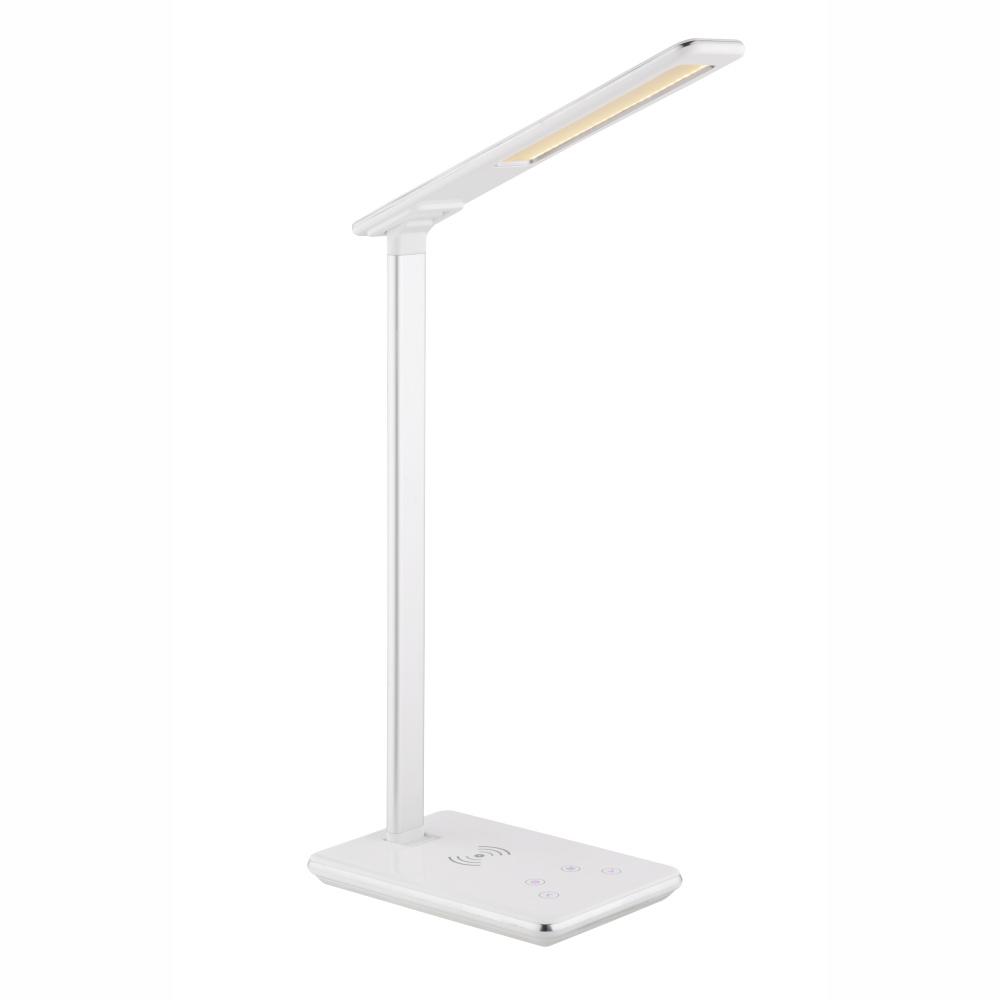 Stolové svietidlo LED - Globo - Hekla - 58297 (biela) (Stmievateľné). Sme autorizovaný predajca Globo. Vlastná spoľahlivá doprava až k Vám domov.