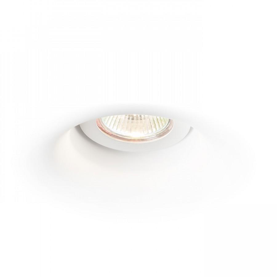 Podhľadové svietidlo - RENDL - Dingo s 12V GU5,3 50W (sadrová). Sme autorizovaný predajca Rendl. Vlastná spoľahlivá doprava až k Vám domov.