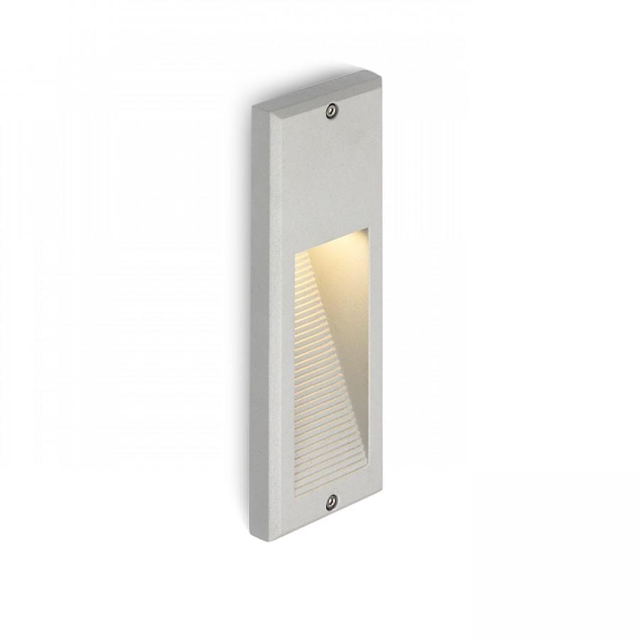 Vonkajšie osvetlenie - RENDL - Faca 230V LED 2W IP54 3000K (striebornosivá). Sme autorizovaný predajca Rendl. Vlastná spoľahlivá doprava až k Vám domov.