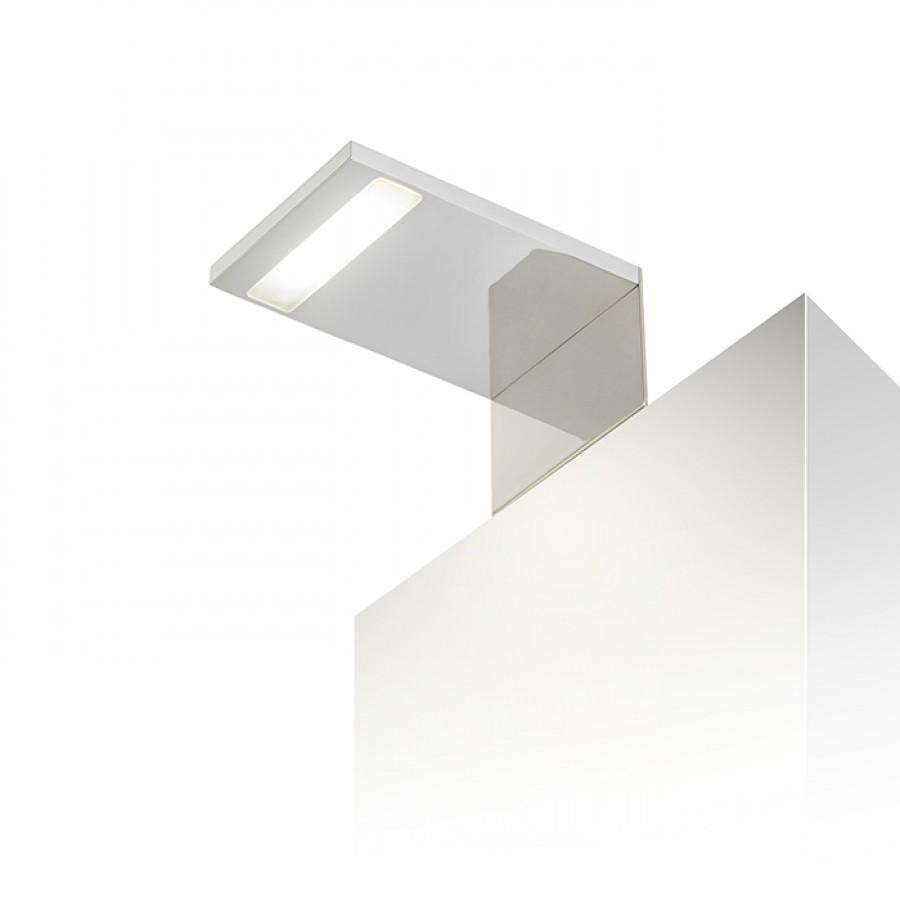 Nástenné svietidlo - RENDL - Paris 230V LED 3W 120° IP44 3000K (chróm). Sme autorizovaný predajca Rendl. Vlastná spoľahlivá doprava až k Vám domov.