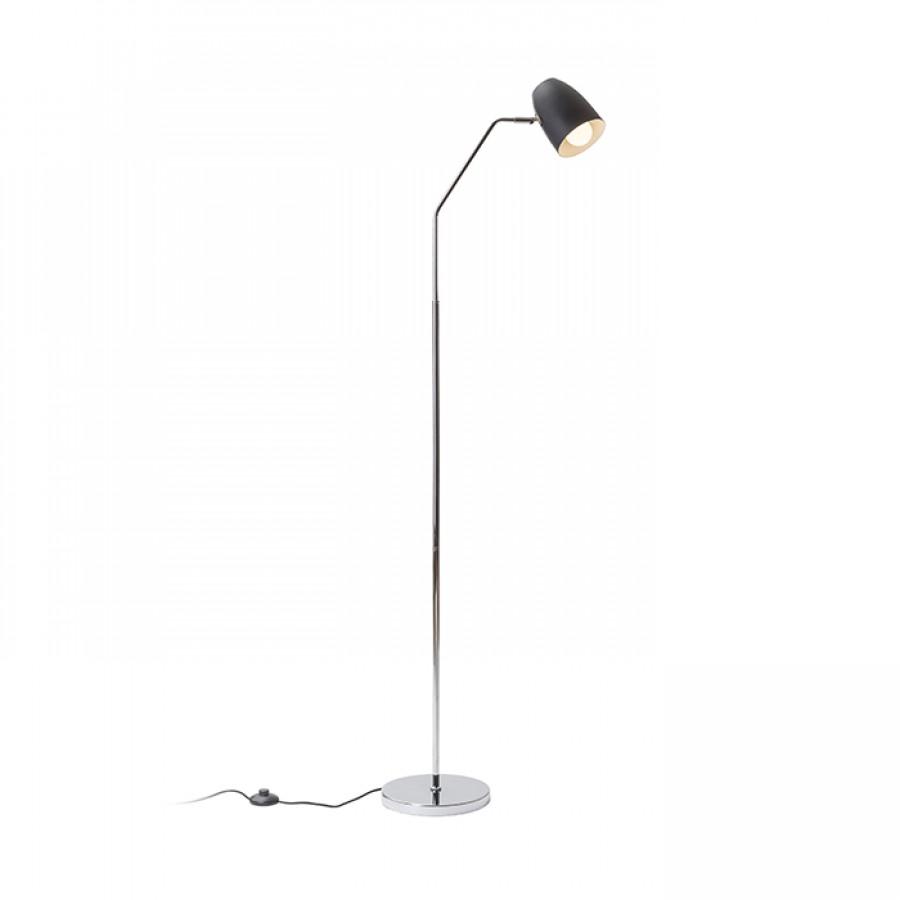 Stojanová lampa - RENDL - Pragma 230V E27 28W (čierna + chróm). Sme autorizovaný predajca Rendl. Vlastná spoľahlivá doprava až k Vám domov.