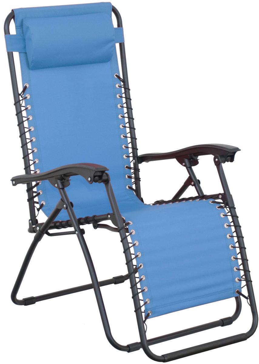 Záhradné lehátko - Doppler - Relax - 266RX0909 modré