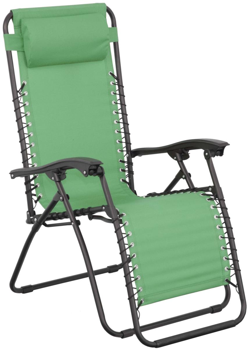 Záhradné lehátko - Doppler - Relax - 266RX0909 zelené