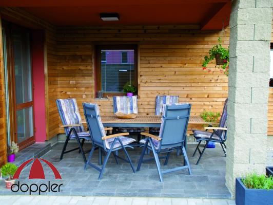 a5ea8f8f887e Záhradný nábytok Doppler Parro Concept 1+6 (hliník + teak ...