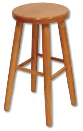 Barová stolička - Drewmax - KT 242
