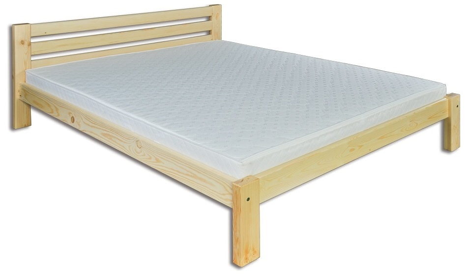 Jednolôžková posteľ 120 cm - Drewmax - LK 105 (masív)