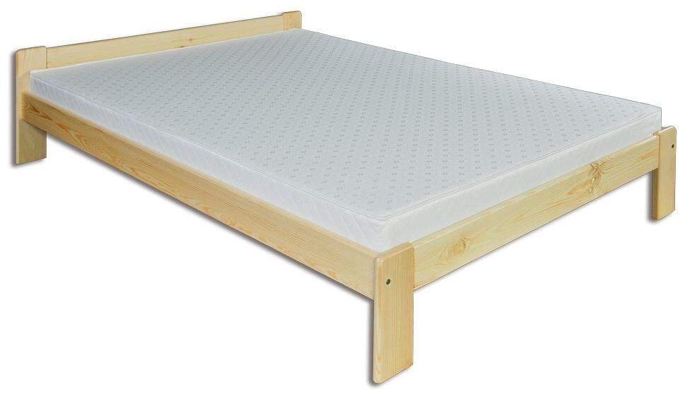Manželská posteľ 160 cm - Drewmax - LK 107 (masív)