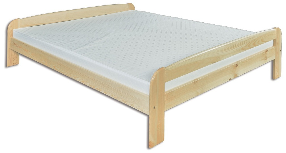 Manželská posteľ 160 cm - Drewmax - LK 108 (masív)