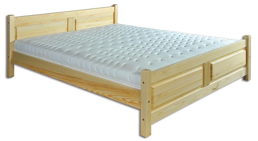 Jednolôžková posteľ 120 cm - Drewmax - LK 115 (masív). Sme autorizovaný predajca Drewmax. Vlastná spoľahlivá doprava až k Vám domov.