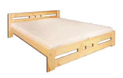 Jednolôžková posteľ 120 cm - Drewmax - LK 117 (masív). Sme autorizovaný predajca Drewmax. Vlastná spoľahlivá doprava až k Vám domov.