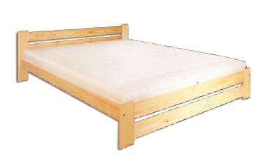 Manželská posteľ 140 cm - Drewmax - LK 118 (masív)