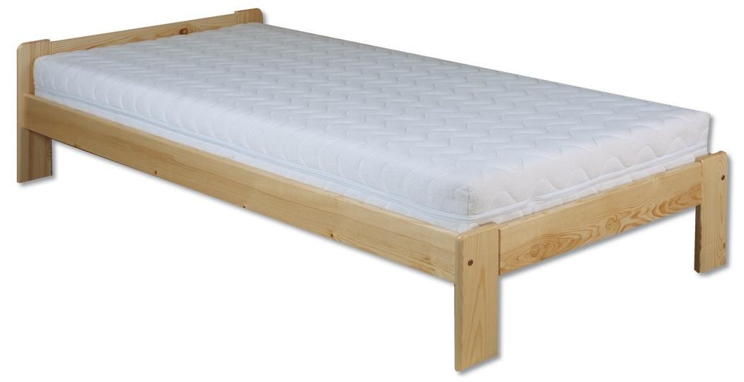 Jednolôžková posteľ 100 cm - Drewmax - LK 123 (masív). Sme autorizovaný predajca Drewmax. Vlastná spoľahlivá doprava až k Vám domov.
