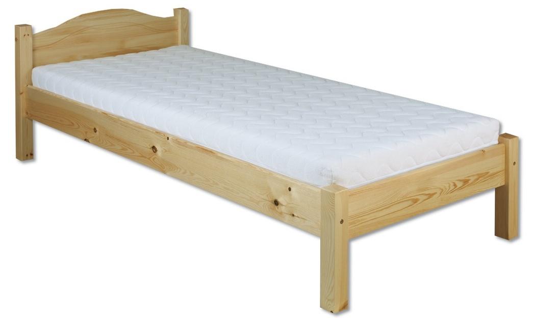 Jednolôžková posteľ 100 cm - Drewmax - LK 124 (masív). Sme autorizovaný predajca Drewmax. Vlastná spoľahlivá doprava až k Vám domov.