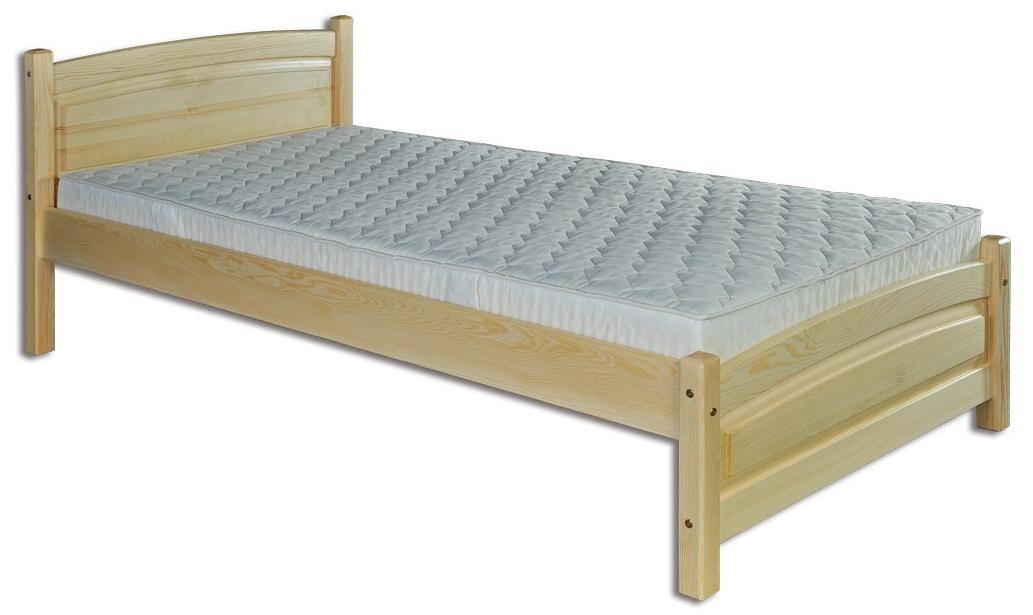Jednolôžková posteľ 100 cm - Drewmax - LK 125 (masív). Sme autorizovaný predajca Drewmax. Vlastná spoľahlivá doprava až k Vám domov.