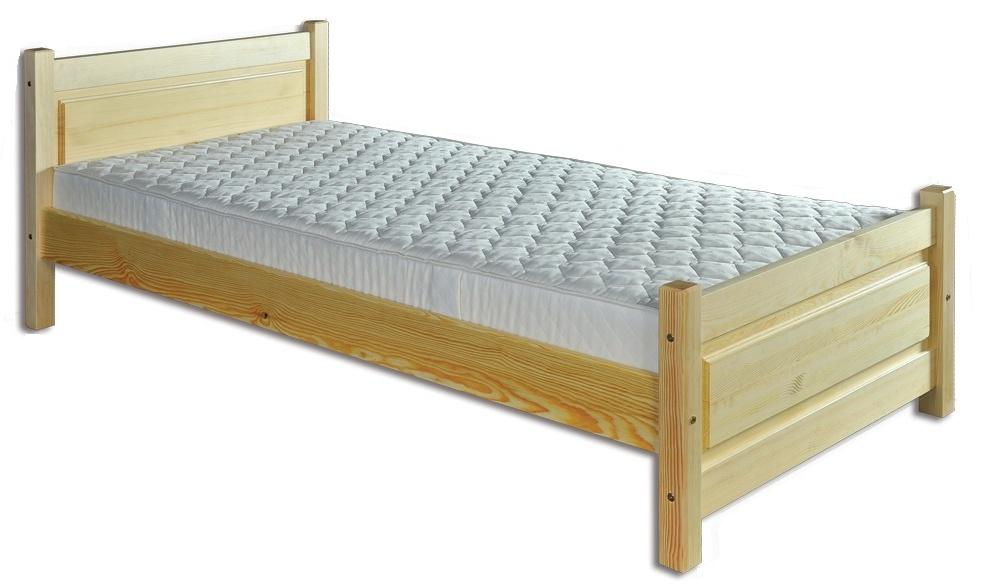 Jednolôžková posteľ 100 cm - Drewmax - LK 129 (masív). Sme autorizovaný predajca Drewmax. Vlastná spoľahlivá doprava až k Vám domov.