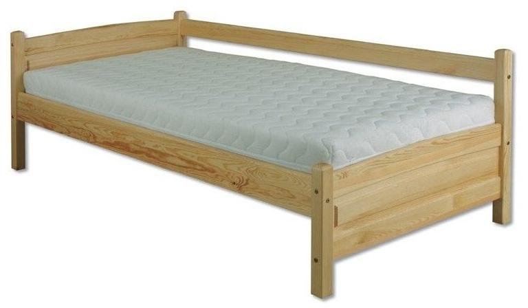 Jednolôžková posteľ 90 cm - Drewmax - LK 132 (masív)
