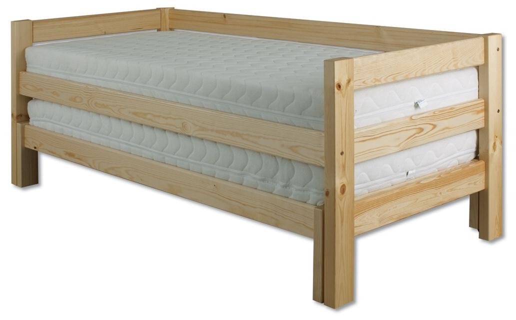 d5d86bf3d609 Rozkladacia posteľ 90 až 180 cm LK 134 (masív)