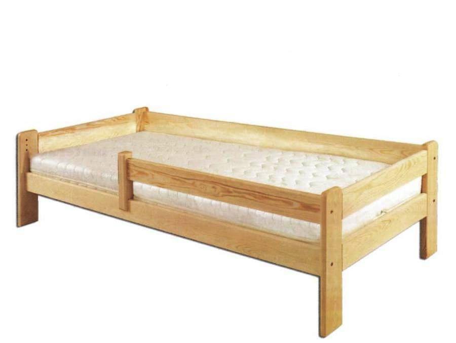 Jednolôžková posteľ 90 cm - Drewmax - LK 137 (masív)