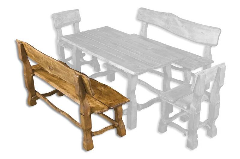 Záhradná lavička - Drewmax - MO101