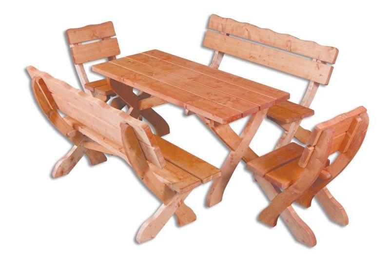 Záhradný nábytok MO105 1+2+2
