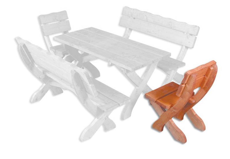 Záhradná stolička - Drewmax - MO105