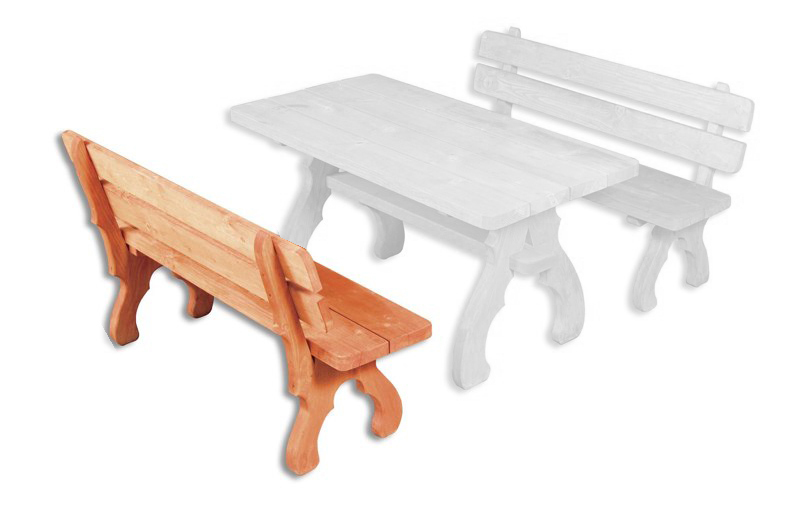 Záhradná lavička - Drewmax - MO106