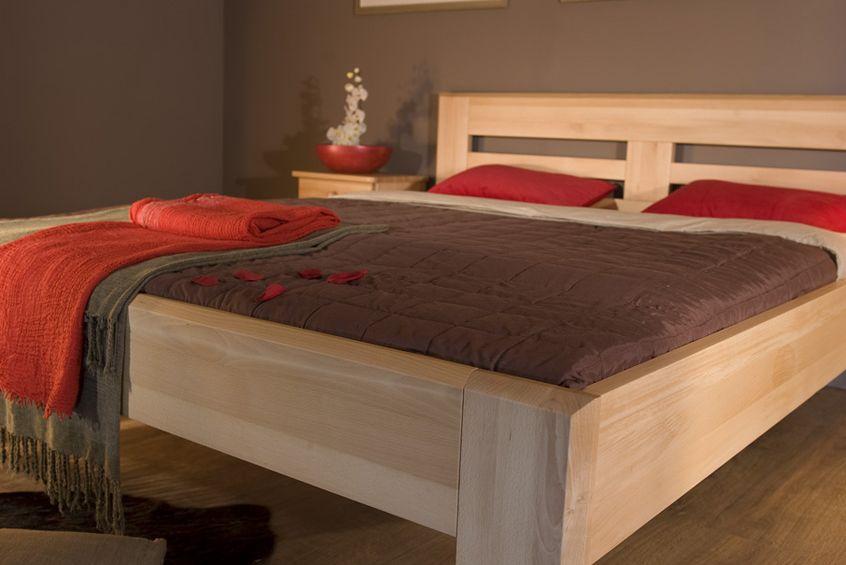 563eba2543c3c Manželská posteľ 180 cm LK 104 (masív) | NovýNábytok.sk