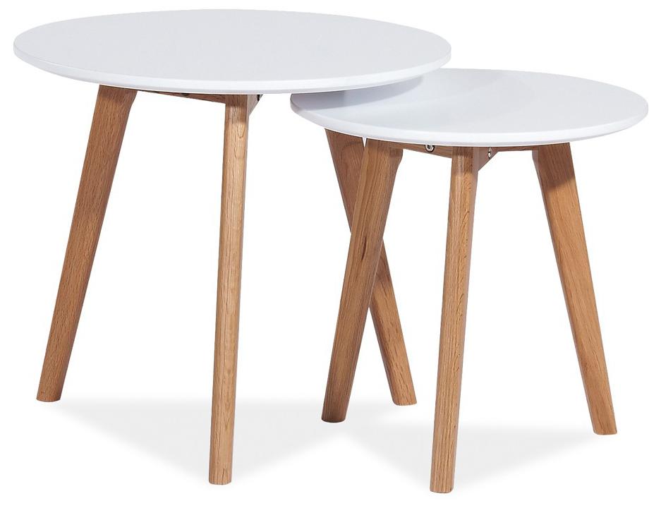 Konferenčný stolík - Famm - Milan S2 (2 ks.)