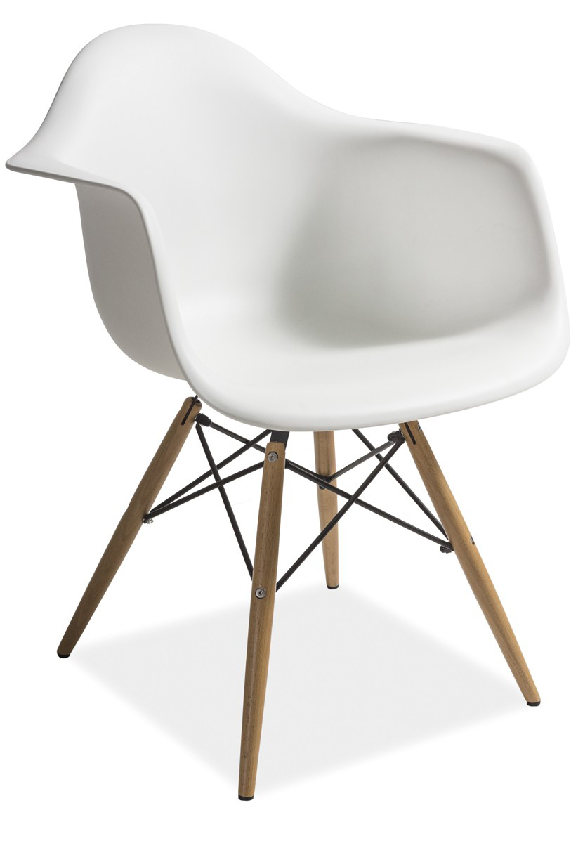 Jedálenská stolička - Famm - Mondi biela