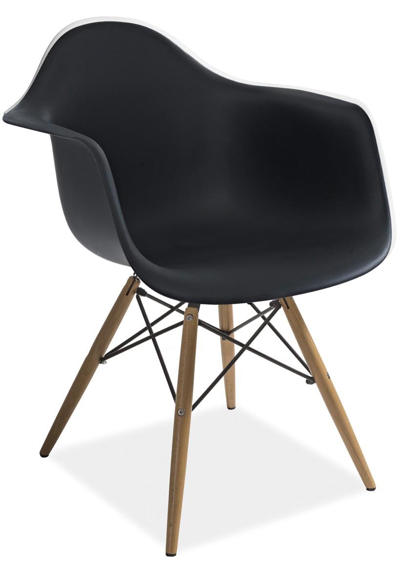 Jedálenská stolička - Famm - Mondi čierna