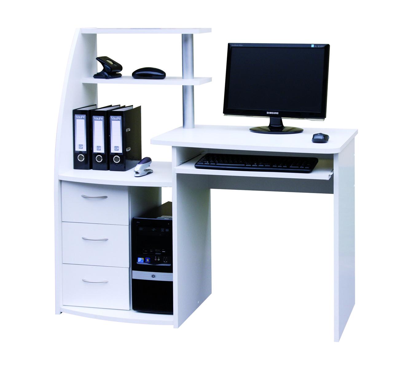 pc stol k viking biely s reg lom nov n. Black Bedroom Furniture Sets. Home Design Ideas