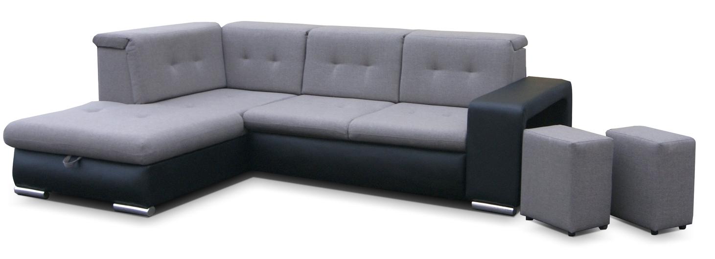 Rohová sedačka - Famm - Dawid (L)