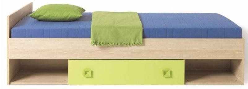 Jednolôžková posteľ 90 cm - Famm - Solo (s roštom a úl. priestorom)