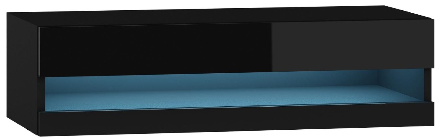 TV stolík/skrinka - Famm - Vigo rtv 180 otvorená LED (s osvetlením)