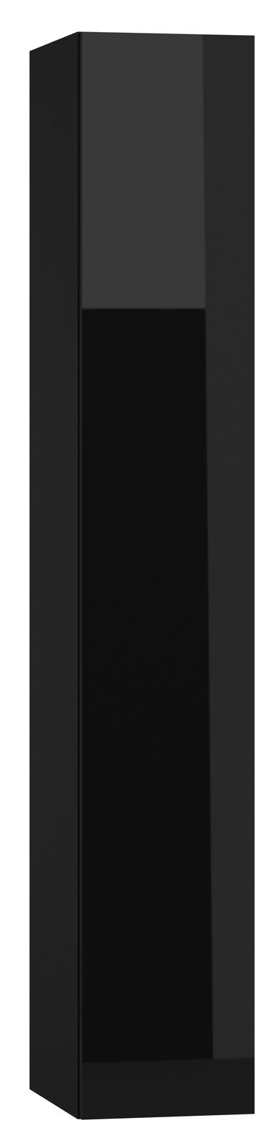 Skrinka na stenu - Famm - Vigo 180 plné dvierka čierna